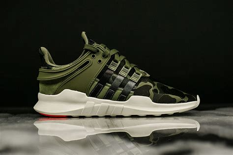 Adidas Eqt Support Adv Camo Green Army Premium Original Sepatu Shoes adidas eqt support adv camo pack