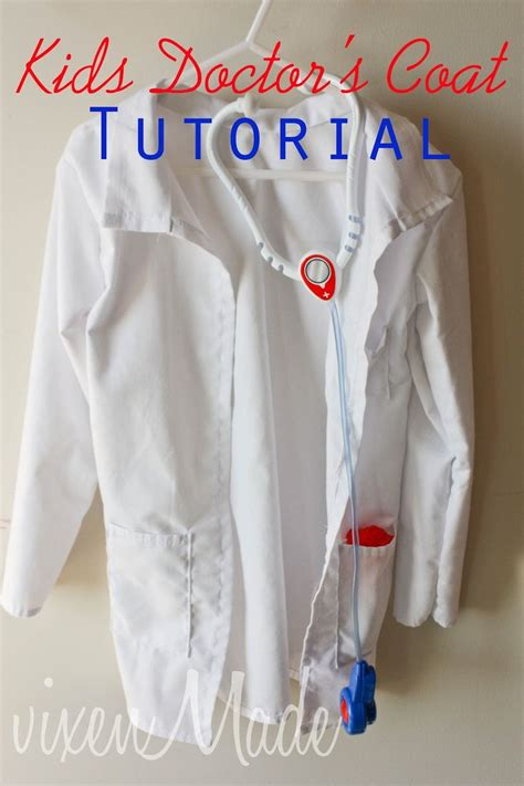 free sewing pattern lab coat my niece was very particular on what she wanted for her