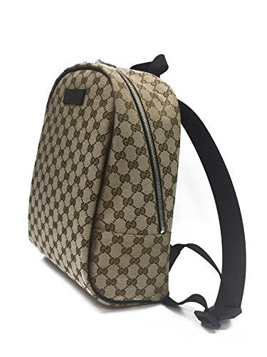Backpack Gucci 1516 gucci handbag backpack beige canvas and brown leather in the uae see prices reviews and