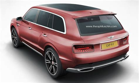 suv bentley 2016 2016 bentley suv rendered autoevolution