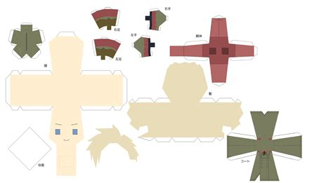 Hetalia Papercrafts - paper fan template studio design gallery best design