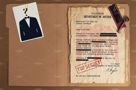 top secret report template top secret file mockup design product mockups creative
