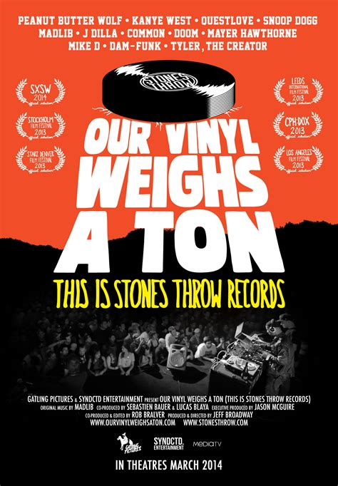 How To Insert A Ton Comfortably by Quot Our Vinyl Weighs A Ton Quot Thursday 9 18 Friday 9 19 Screenings Madelife