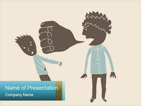 templates powerpoint bullying verbal bullying powerpoint template backgrounds id
