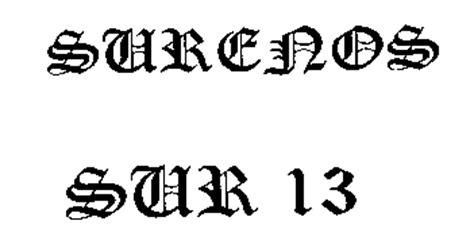 sur 13 tattoos surenos arizona department of corrections