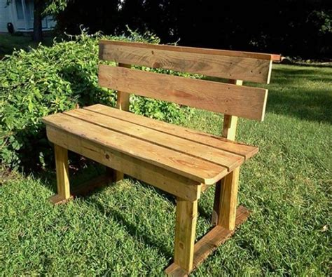diy backyard bench diy pallet patio bench ideas 99 pallets