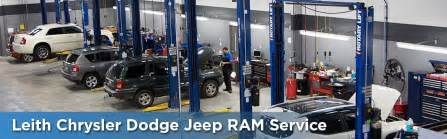 Jeep Service Service Department Leith Chrysler Dodge Jeep Ram Aberdeen