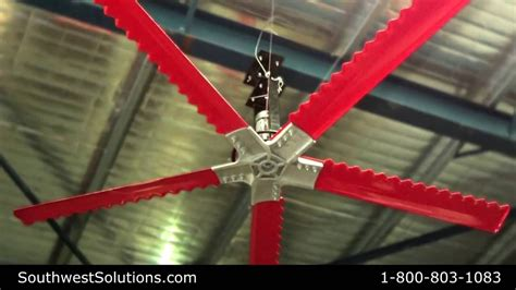 Most Energy Efficient High Velocity Low Speed Fan Big