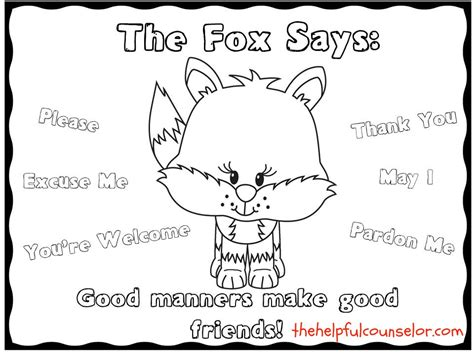 kind words coloring page manners matter fun freebie to encourage kind words