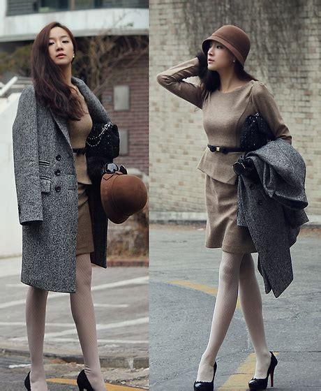 Becky Korean Bag becky baek basic coat brown cloche classic one