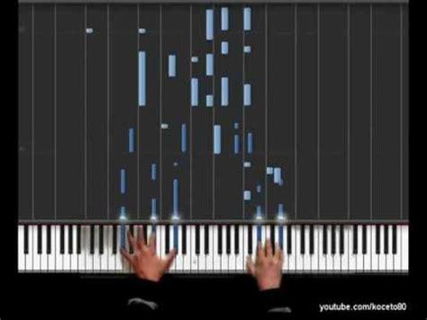 flea waltz flohwalzer easy piano tutorial chords котешки марш flohwalzer chopsticks doovi
