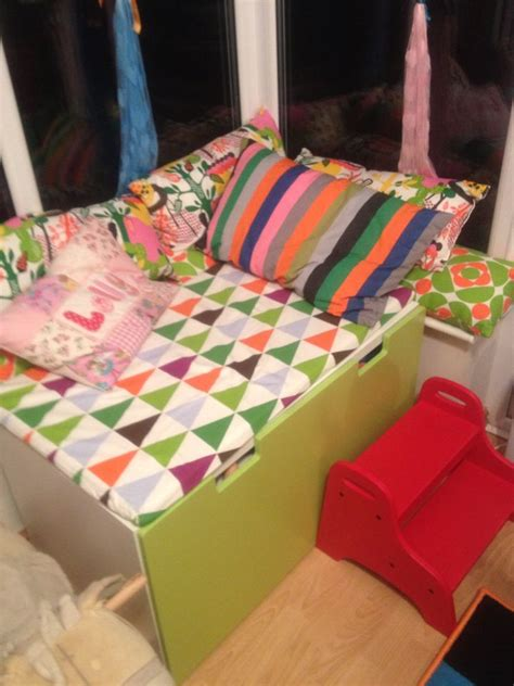playroom bench seating ikea stuva bench and drawer converted into a window seat