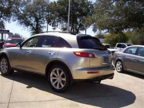 infiniti fx for sale by owner used one owner 2003 infiniti fx35 in ocala florida at