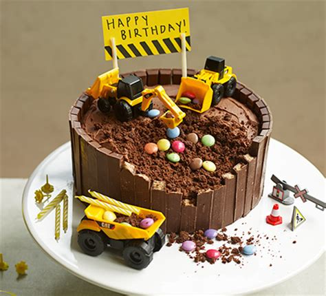 digger cake recipe bbc good food
