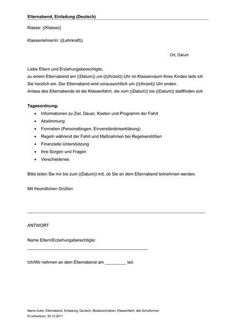Muster Bearbeitungsgeb Hr Kredit Zur Ckfordern Elternbrief Einladung Elternabend Usertask Co