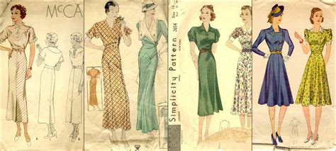 womens fashion mid thurtys 30s glamor and fashion the great 1930s