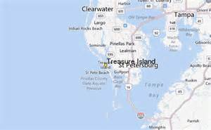 treasure island map florida treasure island weather station record historical