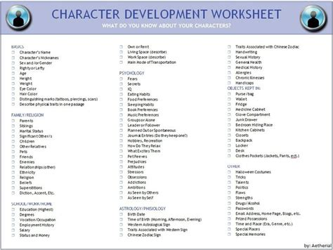 World Building Template character development i still use d dice and some