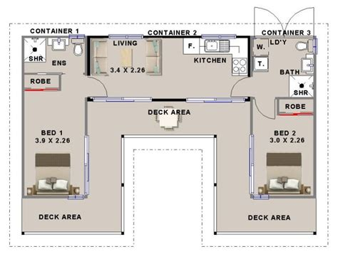 conex house plans numberedtype