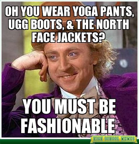 North Face Jacket Meme - left behind georg simmel on fashion rachel lauren s