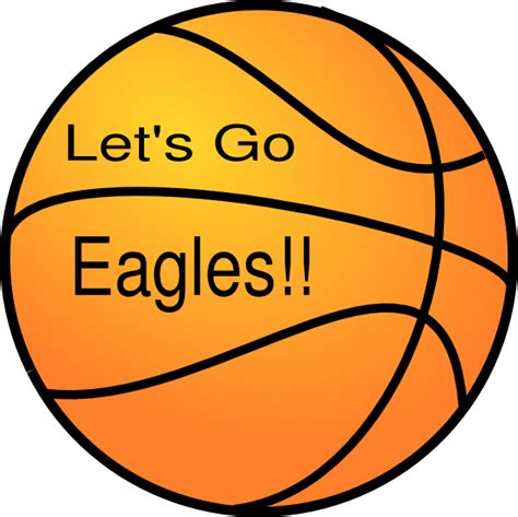 eagle basketball clip art at clker com vector clip art