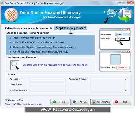 password resetter download free password recovery for free download manager to restore