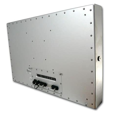 ip67 schutzklasse 24 zoll edelstahl monitor schutzklasse bis ip67 adm