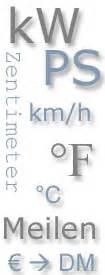 Umrechnung Von Ps In Kw Und Umgekehrt by Einheitenumrechner Km H In Meilen Uvm Www 7 Forum