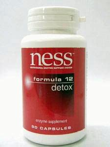 Detox Number 13 by Detox 12 90 Caps Ness Enzymes