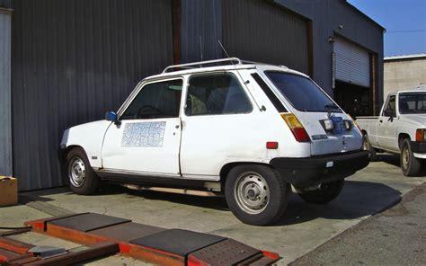 Renault Le Car by The Peep 1981 Renault Le Car Le Parts Car
