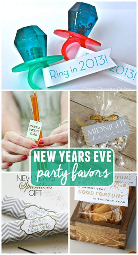 new year favors ideas clever new year s favor ideas crafty morning