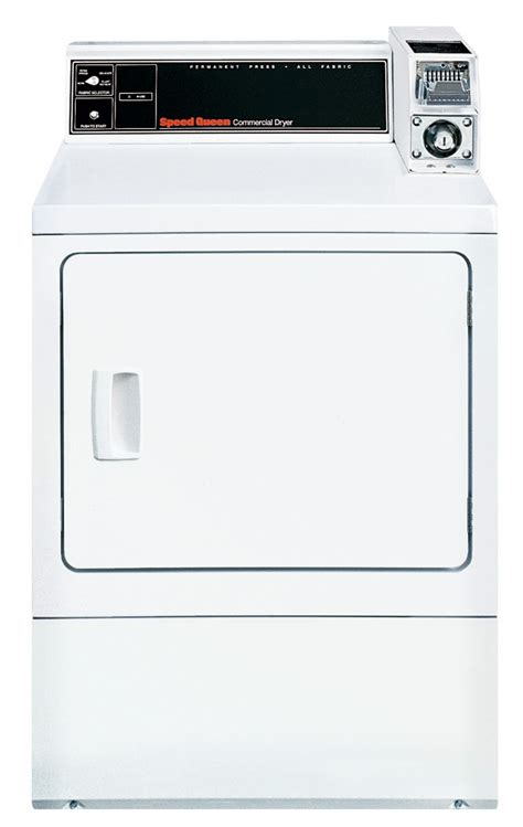 Dryer Gas Speedqueen Ldl3trww301nw speed commercial single load gas dryer sdg909wf