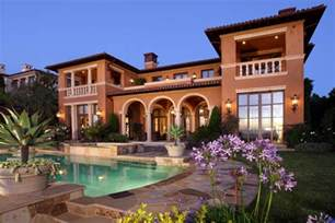Mediterranean Style Mansions by Picture Your In Tuscany In A Mediterranean Style Home