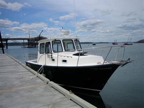 eastern downeast lobster yacht power boat  sale wwwyachtworldcom