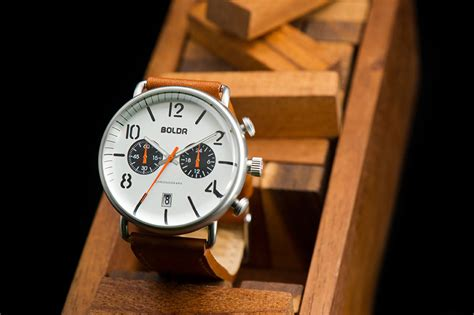 boldr s affordable chronograph watches cool