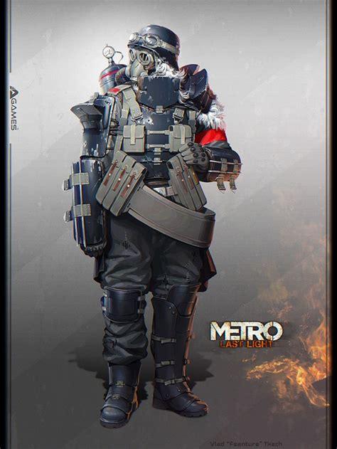 Metro Last Light Tank by Les Concept De Metro Last Light Culture