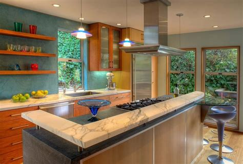 modern bar tops kitchen bar top ideas how to choose the right bar counter