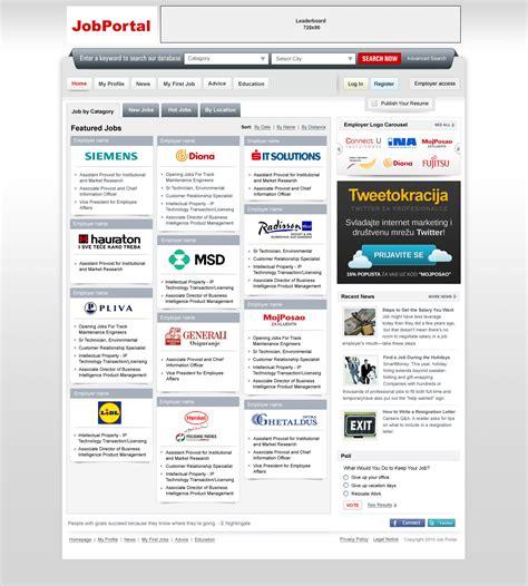 design online job portal ui design for a job portal ideaflick