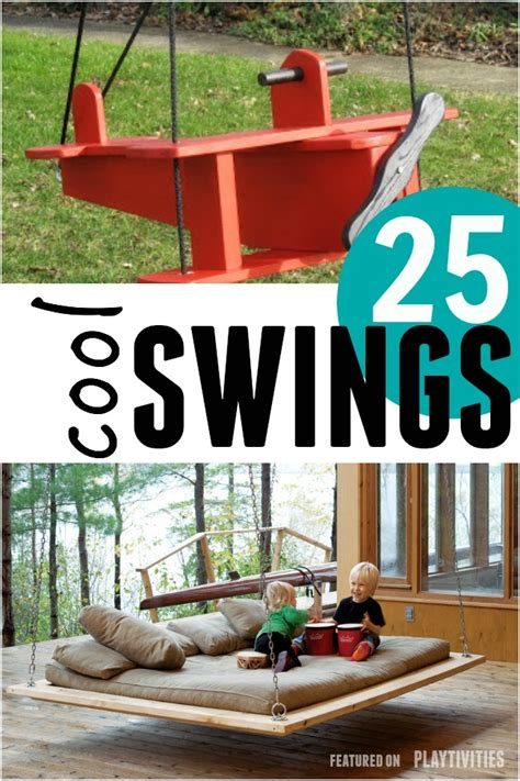 cool kids swings 25 diy swings you can make for your kids playtivities