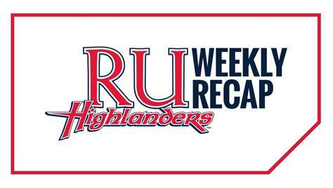 weekly recap radford athletics this week in radford athletics