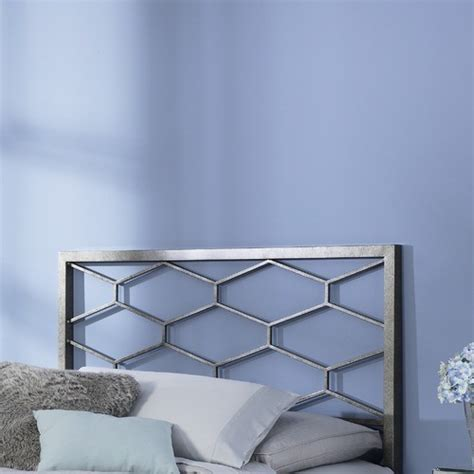 camden metal headboard modern headboards by wayfair