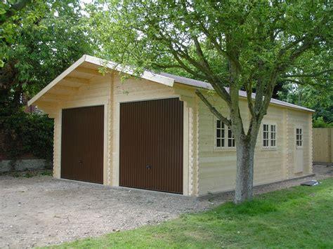 Garage En Bois En Kit 330 garage en bois en kit garage 2 places twix m2 en kit