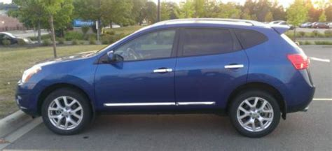 how it works cars 2011 nissan rogue navigation system buy used like new blue 2011 nissan rogue sl awd gps navigation camera heated seats in eden