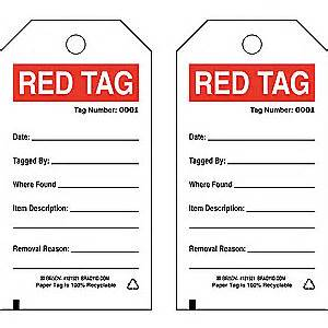 brady 5s red tag 5 s red cardstock 3 quot x 5 3 4 quot 41f338
