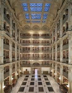 peabody library baltimore librarian work pinterest