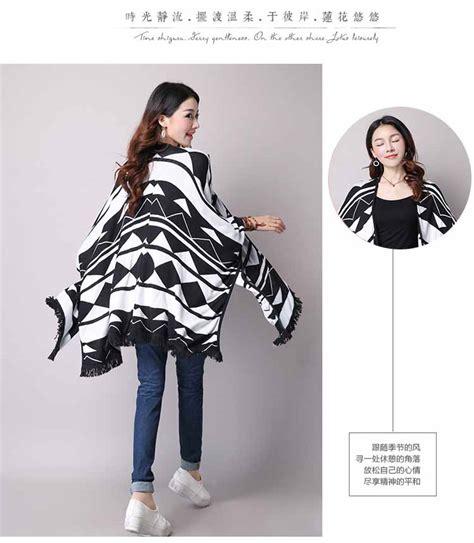 Baju Atasan Lengan Panjang Cewek Motif Batik Import Murah cardigan terbaru 2017 sweater vest