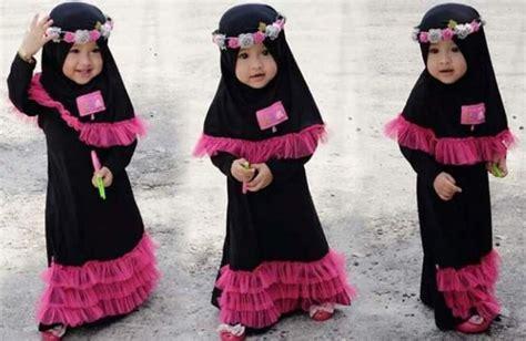 Baju Muslim Balita Perempuan Terbaru Baju Muslim Untuk Anak Balita Perempuan Yang Cantik Dan