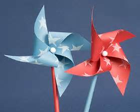Pinwheel Paper Craft - how to make a paper pinwheel paper windmill