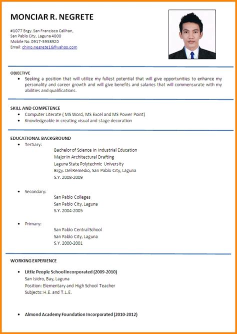 resume applicant resume ideas