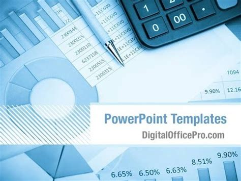 Financial Report Powerpoint Template Backgrounds Digitalofficepro 00222 Youtube Financial Report Powerpoint Presentation Template
